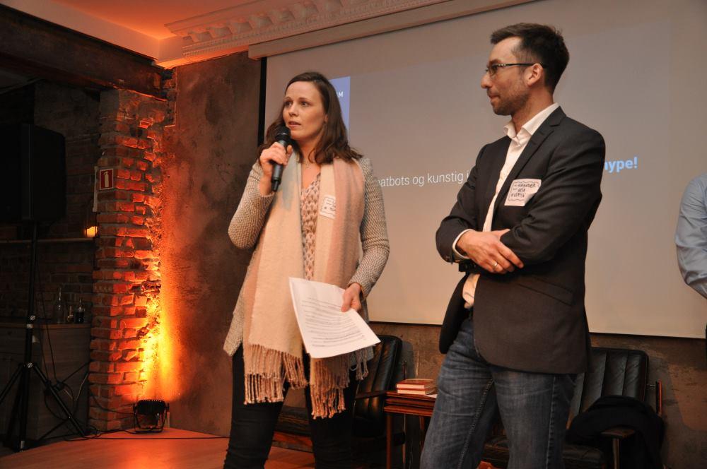 Lise og Alexander åpner DigitalBar