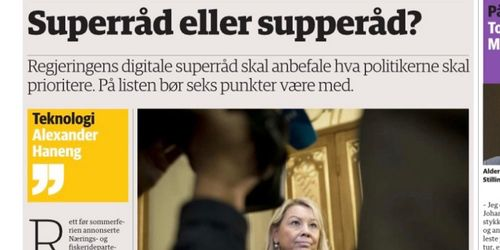 Digital 21: Superråd eller supperåd?